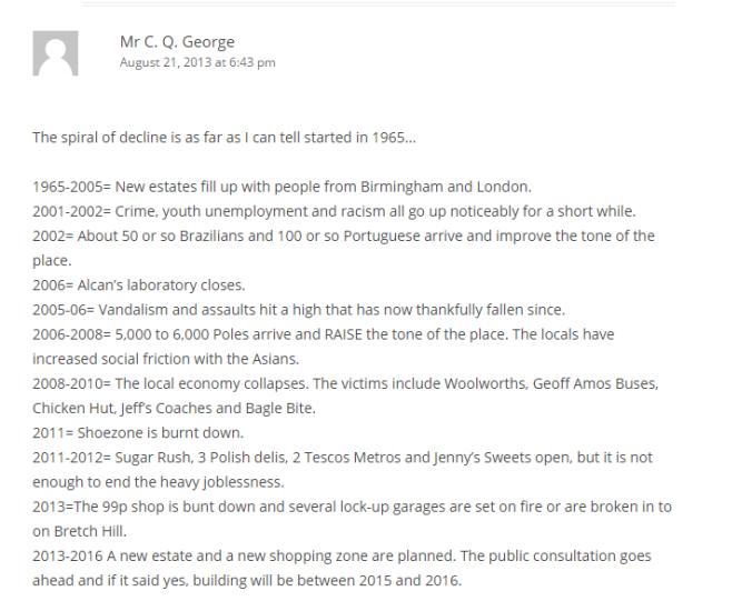 MR CQ George